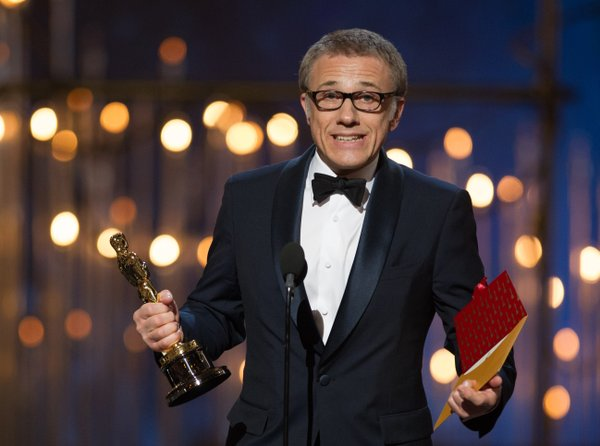 "Christoph Waltz won best supporting actor for ""Django Unchained."""