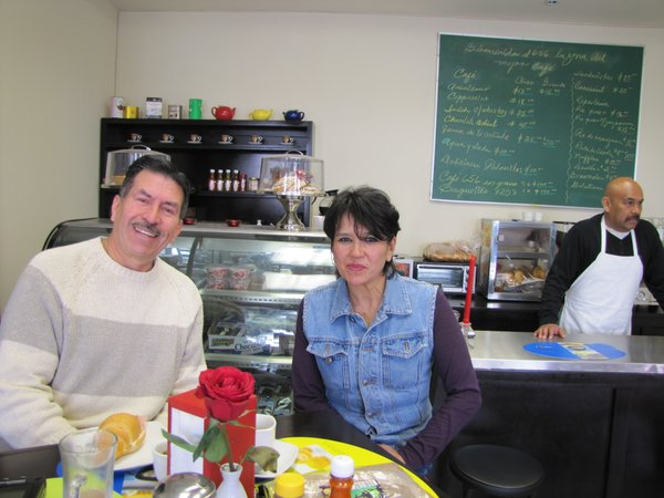 Ramon Galindo and Socorro Arredondo are the owners of a new coffee shop in Ciudad Juárez called Café 656.
