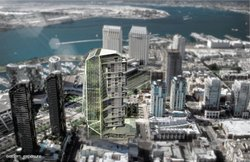 San Diego architect Brandon Martella says by utilizing vertical farming, a new model of living can be tested and resolved in a dense vertical community. 
