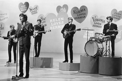 Hermans Hermits perform their hit &quot;Cant You Hear My Heartbeat.&quot;