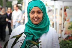 2013 Women's History Month honoree, Amina Sheik Mohamed.