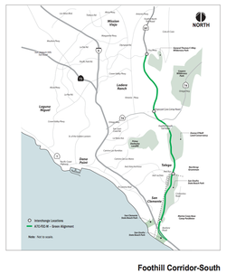 Proposed Toll Road rejected in 2008 by California Coastal Commission
