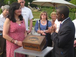 Lennox Cato finds a box made by Napoleonic prisoners of war.
