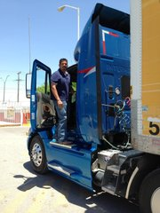 Alejandro Rivera is a commercial truck driver for an American logistics company based in El Paso, Texas.