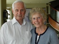The 2014 Jewish American Heritage Month Local Hero Ed Samiljan and wife, Rae.