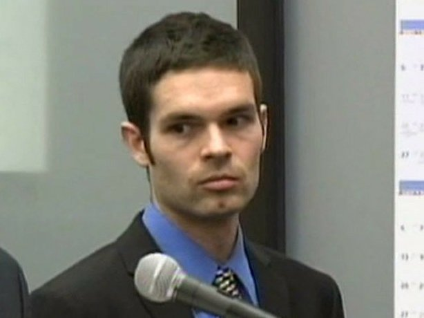 Kevin Bollaert is seen during his arraignment on 31 felony counts    Kevin Christopher Bollaert