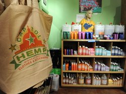 Hemp products for sale in Washington, D.C., in 2010. The U.S. is the world&#39;s largest consumer of hemp products, although growing hemp is illegal under federal law. Colorado recently passed a measure that legalizes growing hemp.