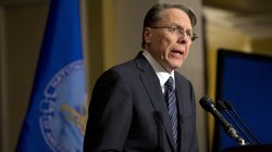 Wayne LaPierre, the National Rifle Association&#39;s executive vice president, speaks in response to the Connecticut school shootings, at a news conference in Washington on Friday.