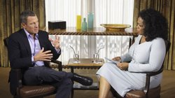 "Lance Armstrong speaks with Oprah Winfrey during taping for the show ""Oprah and Lance Armstrong: The Worldwide Exclusive"" in Austin, Texas, on Monday. The interview airs Thursday and Friday on the Oprah Winfrey Network."