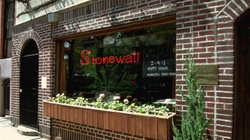 The Stonewall Inn in the Greenwich Village section of New York City was the site of the 1969 riot that sparked the gay rights movement.