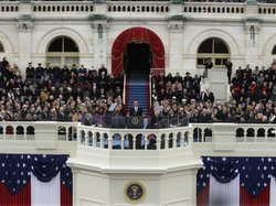 For his second inaugural address, President Barack Obama defended government as central to harnessing the energy of American individuals.