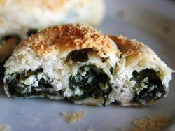 Called a boyo or bulema, this Turkish-style pastry was traditionally made for the Jewish Shabbat. Today, boyos are mostly reserved for holidays like Hanukkah.