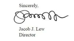Jacob &quot;Jack&quot; Lew&#39;s signature, on the 2012 &quot;Mid-Session Review&quot; of the federal budget. He was director of the Office of Management and Budget at the time.
