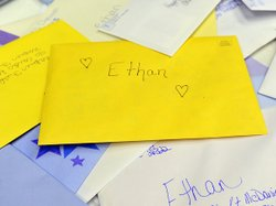 Birthday cards for Ethan have been arriving at the town hall in Napier Field, Ala., where he lives.