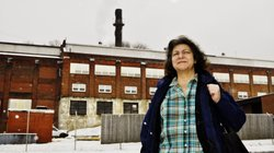 Standing near the Remington Arms factory, Beth Neale, deputy mayor of Ilion, N.Y., says she's watched a lot of large manufacturers leave the region. But she's not sure Ilion would easily recover from losing Remington.