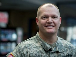 Minnesota National Guard Capt. Jeff Pratt, who has nearly 20 years of military service under his belt, found a civilian job with the help of an innovative new jobs program led by the Minnesota National Guard.