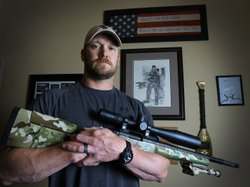 Chris Kyle, retired Navy SEAL and bestselling author of the book