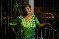 "Genoveva ""Veva"" Camacho raised her family in Puerto Rico, and still lives in the town of Cabo Rojo with her grandson, Edward. Her daughters and granddaughter moved to Florida in search of a better life."