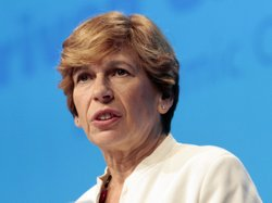 Randi Weingarten, president of the American Federation of Teachers, says a bar exam for K-12 teachers would test a person&#39;s knowledge based on the subject he was hired to teach such as math, history, English, science.