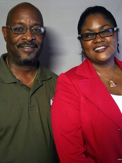 The Rev. Eric Williams and his colleague Jannette Berkley-Patton visited StoryCorps in Kansas City, Mo., where they discussed a funeral that shaped Williams' future.