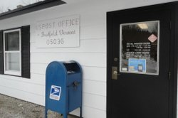 Brookfield, Vt. residents fear that U.S. postal service changes will eventually lead to the closing of their small town post office. 1,292 live in Brookfield according to 2010 U.S. Census figures.