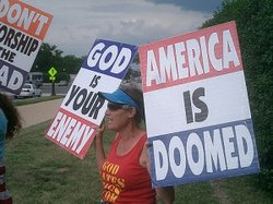 Westboro Baptist Church protest