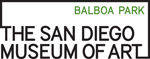 Logo for The San Diego Museum of Art, website will open in new window