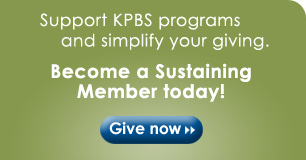 KPBS Sustaining Member enrollment form