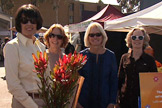 Producers Club Committee Members Kitty Wolcott, Patti Nussbaum, Kathy Bettles, and Julie Hatch
