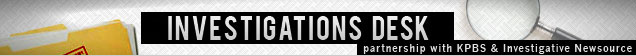 Investigations Desk banner