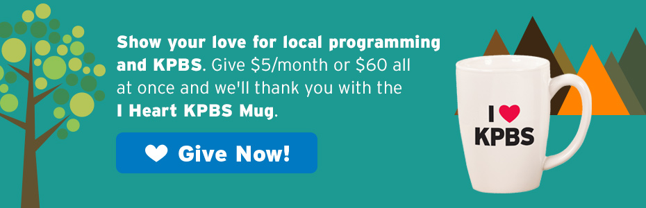 Give to KPBS and we'll send a great gift
