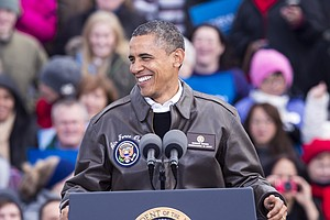 Obama Returns To The Campaign Trail Post-Sandy