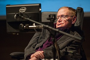 Stephen Hawking, Who Awed Both Scientists And The Public,...