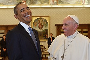 The Pope And The President: Common Ground But A Clear Divide