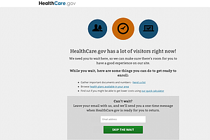 Glitches Return To HealthCare.Gov As Enrollment Clock Expires