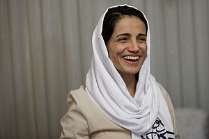 Iranian Activist Says Her Release Is A Gesture, Not A New...