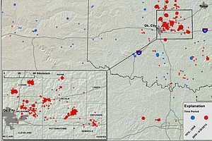 USGS: Okla. Fracking Has Increased Chance Of 'Damaging Qu...