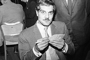 Remembering Omar Sharif, A Star In Two Skies