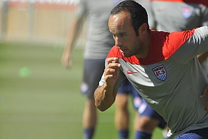 U.S. Soccer Star Landon Donovan Fails To Make World Cup Cut