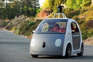 Google's New Car Lacks A Steering Wheel (And Brakes)