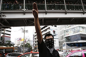 The Thai Protest That's Straight From 'The Hunger Games'