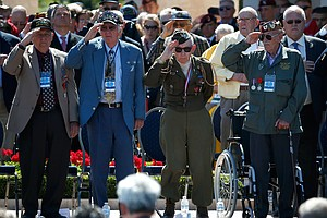 70 Years After A Crucial Invasion, World Honors D-Day
