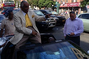 Congressman Rangel Battles For Political Survival