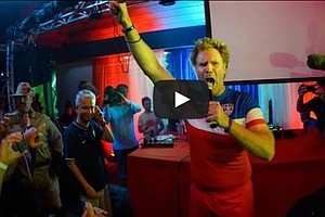 Will Ferrell, Teddy Goalsevelt Pump Up U.S. Fans