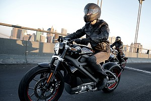 Harley Hopes An Electric Hog Will Appeal To Young, Urban Riders