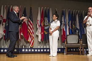 Navy Promotes Its First Female Four-Star Admiral