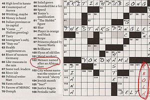 Ebola Invades 'The New York Times' Sunday Crossword