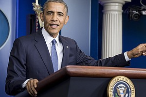 President Obama Slams Congress As He Welcomes Economy's G...