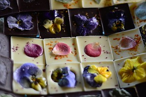 Edible Flowers Find A Sweet Companion In Chocolate