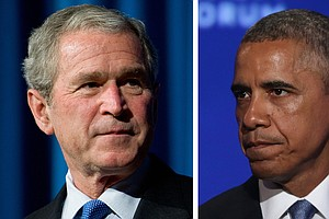 The Bush/Obama Quiz: What's The Difference?